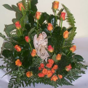 Angel bouquet-angel may vary