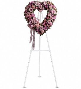 Sympathy...Pastel Open Heart$175.00