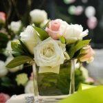 cube vase arrangement